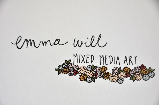 Emma Will Mixed Media Art