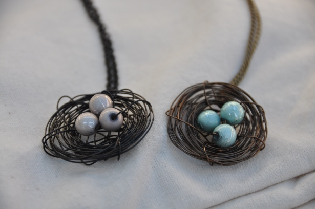 Wire Nest Necklace